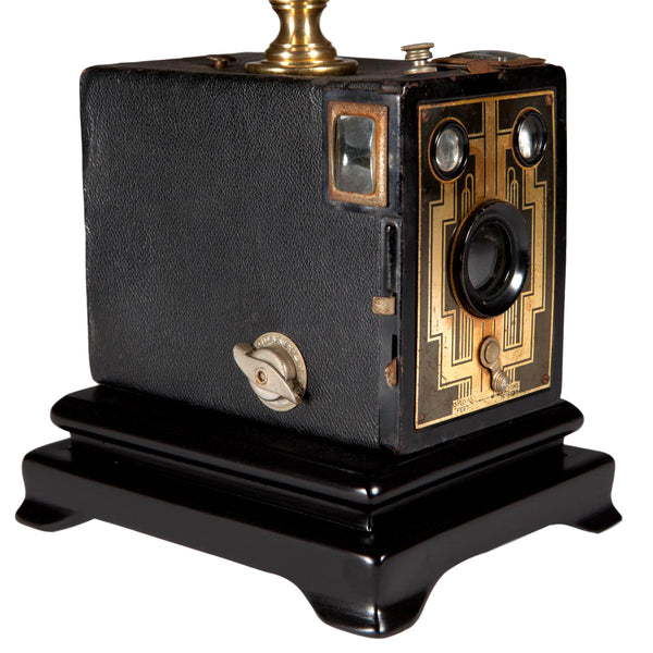 Vintage Kodak Brownie Camera Lamp