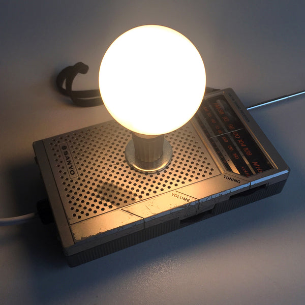 Vintage Radio Night Light - One-of-a-Kind Mini Light