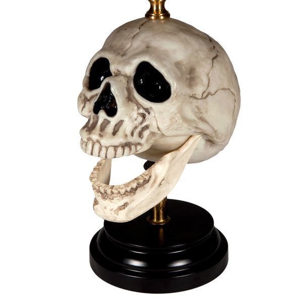 Hand Crafted Unique Skull Lamp