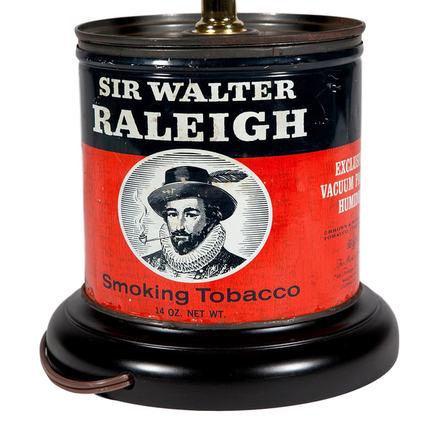 Vintage Walter Raleigh Caddy Lamp