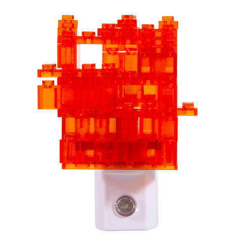 Hand Crafted Night Light - Mini Legos Auto Sensor LED Nite Lite