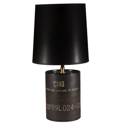 Vintage Military Container Lamp