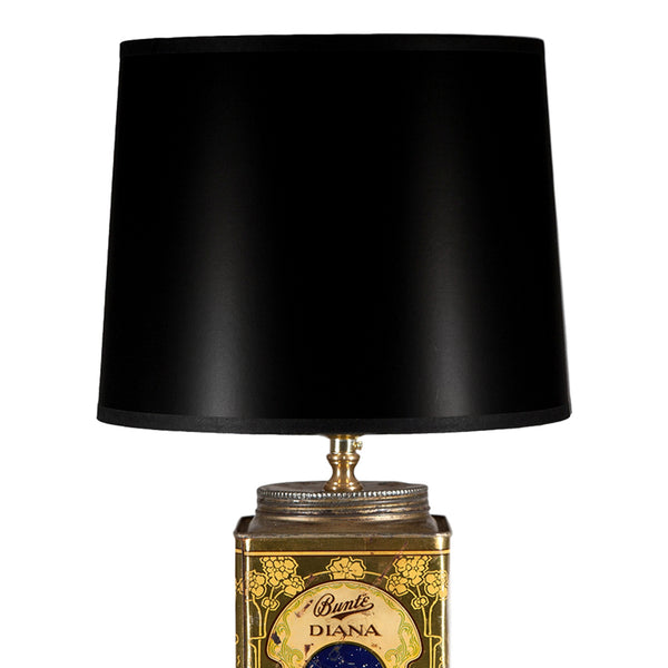 Vintage Art Deco-styled Tin Lamp