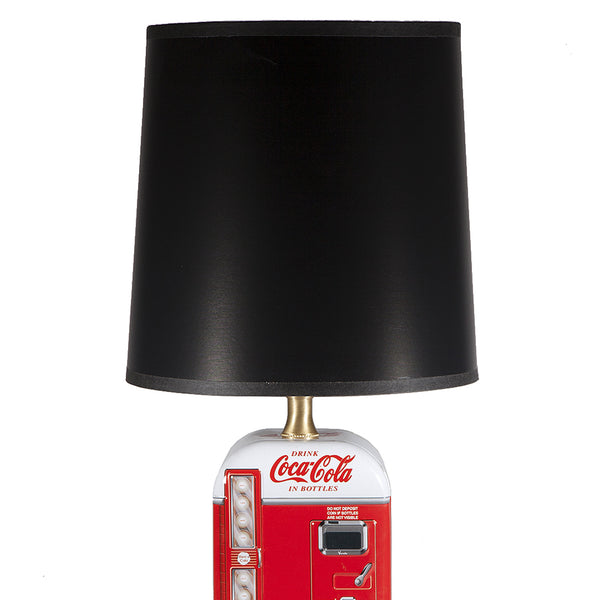 Vintage Coke Advertising Tin Lamp