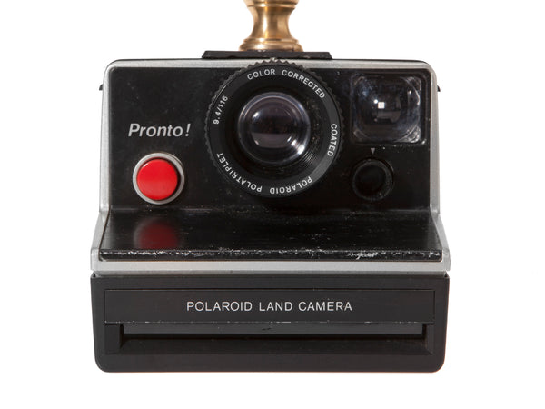 Vintage Kodak Polaroid Pronto Camera Lamp