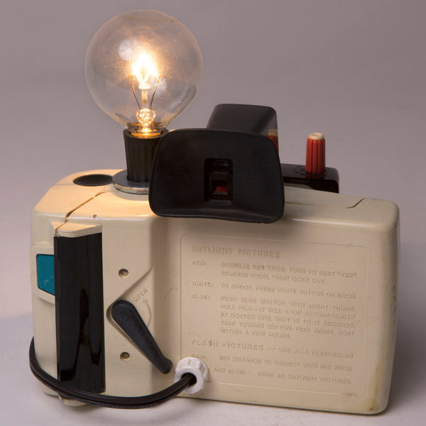 Vintage Polaroid Land Camera Mini Lamp