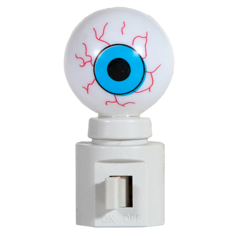 Unique Spooky Eyeball Night Light - Hand Crafted Plug In Nite Lite