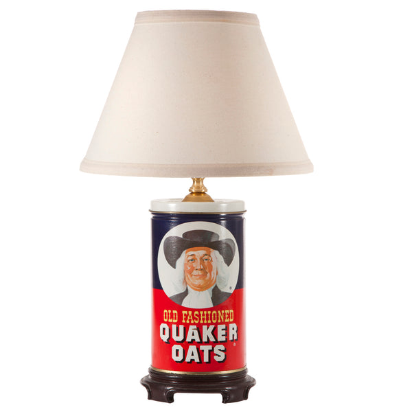 Vintage Oatmeal Tin Up-cycled Kitchen Lamp
