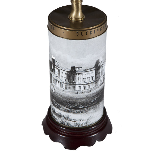 Vintage Buckingham Palace Cookie Tin Lamp