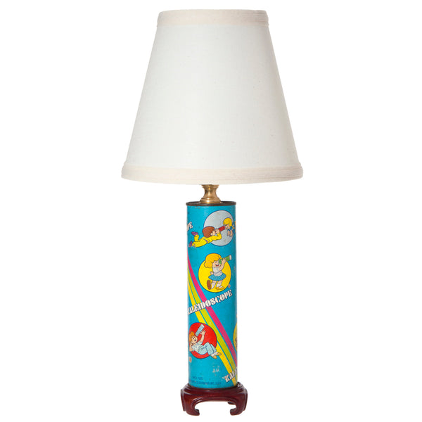 Vintage Kids Kaleidoscope Up-cycled Lamp