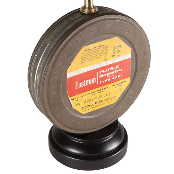 Vintage Eastman Film Canister Tin Lamp