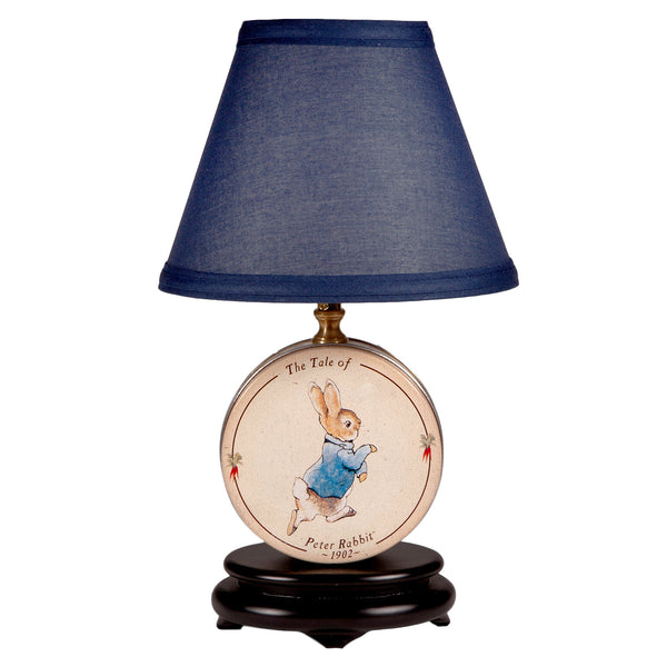 Vintage Peter Rabbit Small Nursery Lamp