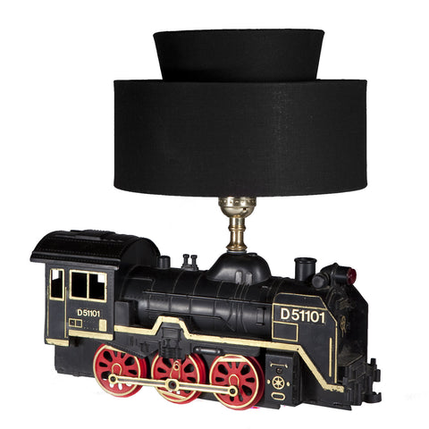 Vintage Model Train Engine Lamp