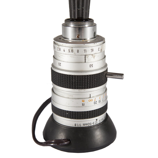 Canon TV Zoom Lens Mini Up-cycled Lamp
