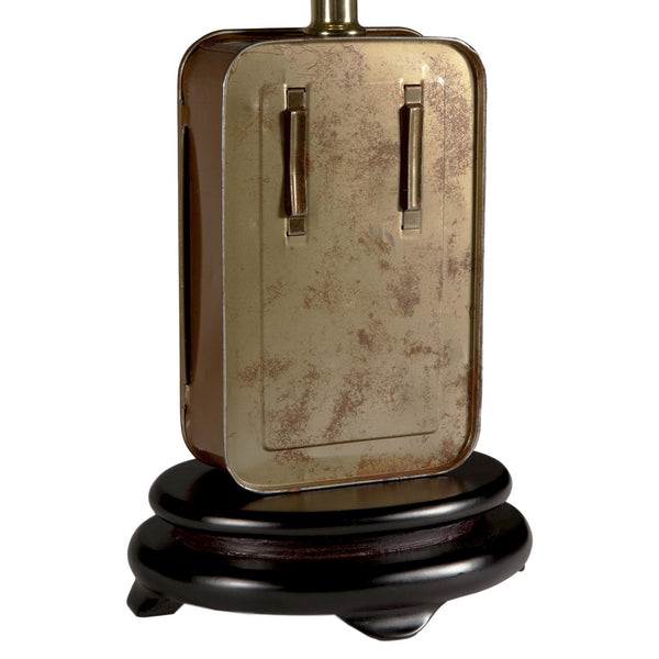 Vintage Boy Scouts First Aid Kit Lamp