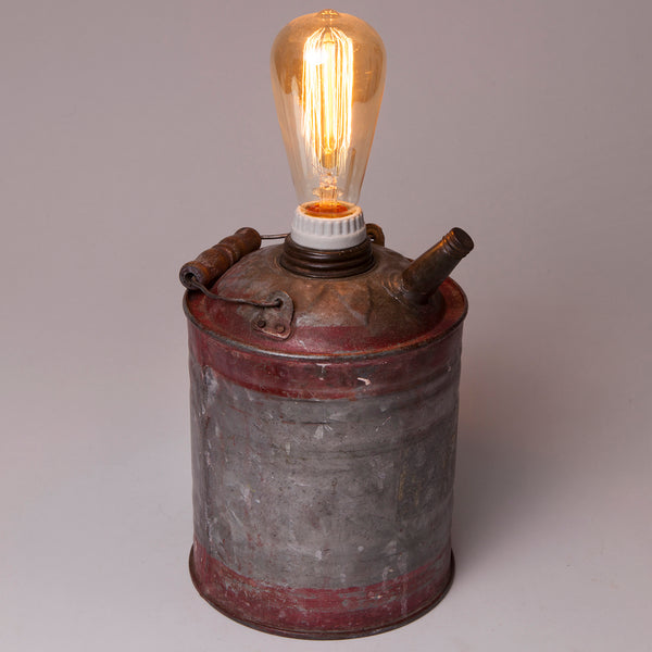 Vintage Rustic Gas Can Lamp