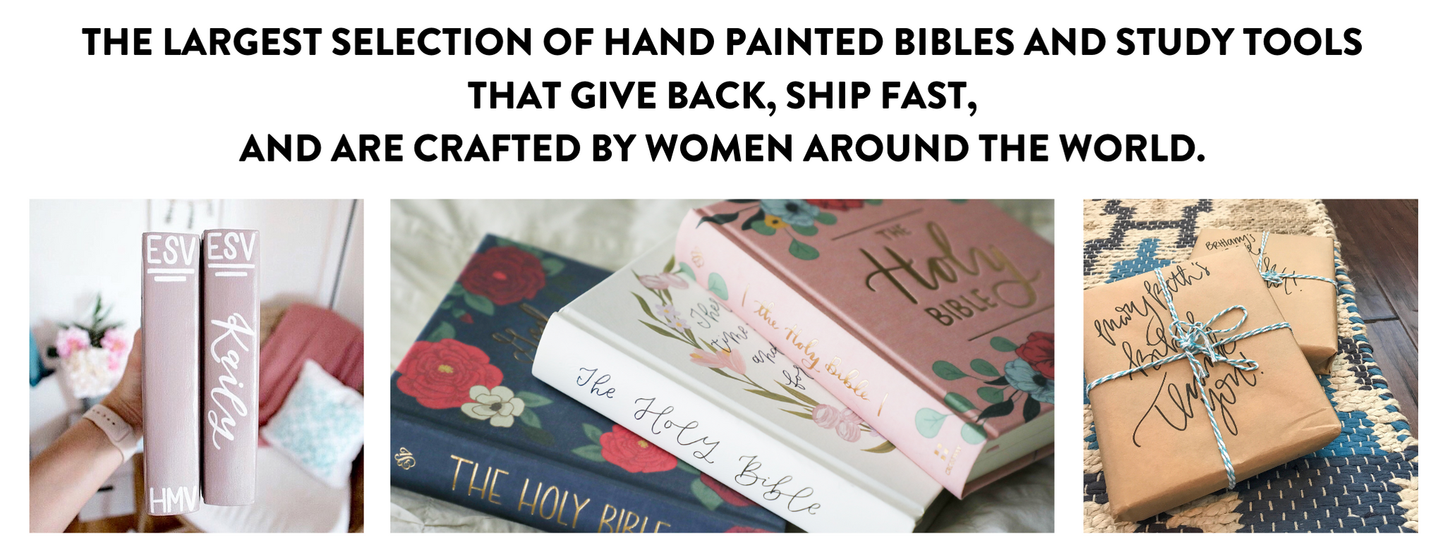 Wheat And Honey Co Hand Painted Bibles Study Tools And Workshops
