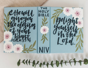 Custom Hannah Bible, ESV Journaling Bible