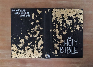 Black and Gold, ESV Large Print Thinline