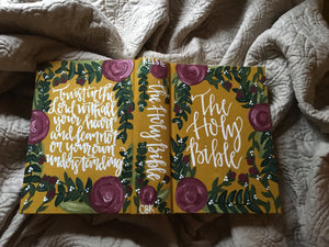 Fully Custom Katie Bible, ESV Journaling Bible
