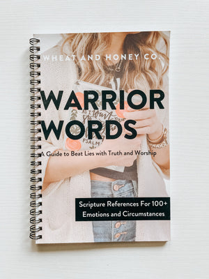 Mother's Day Bundle - Journal + Warrior Words: Scripture Reference Tool