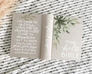 Wedding Guest Book Custom ESV Journaling Bible