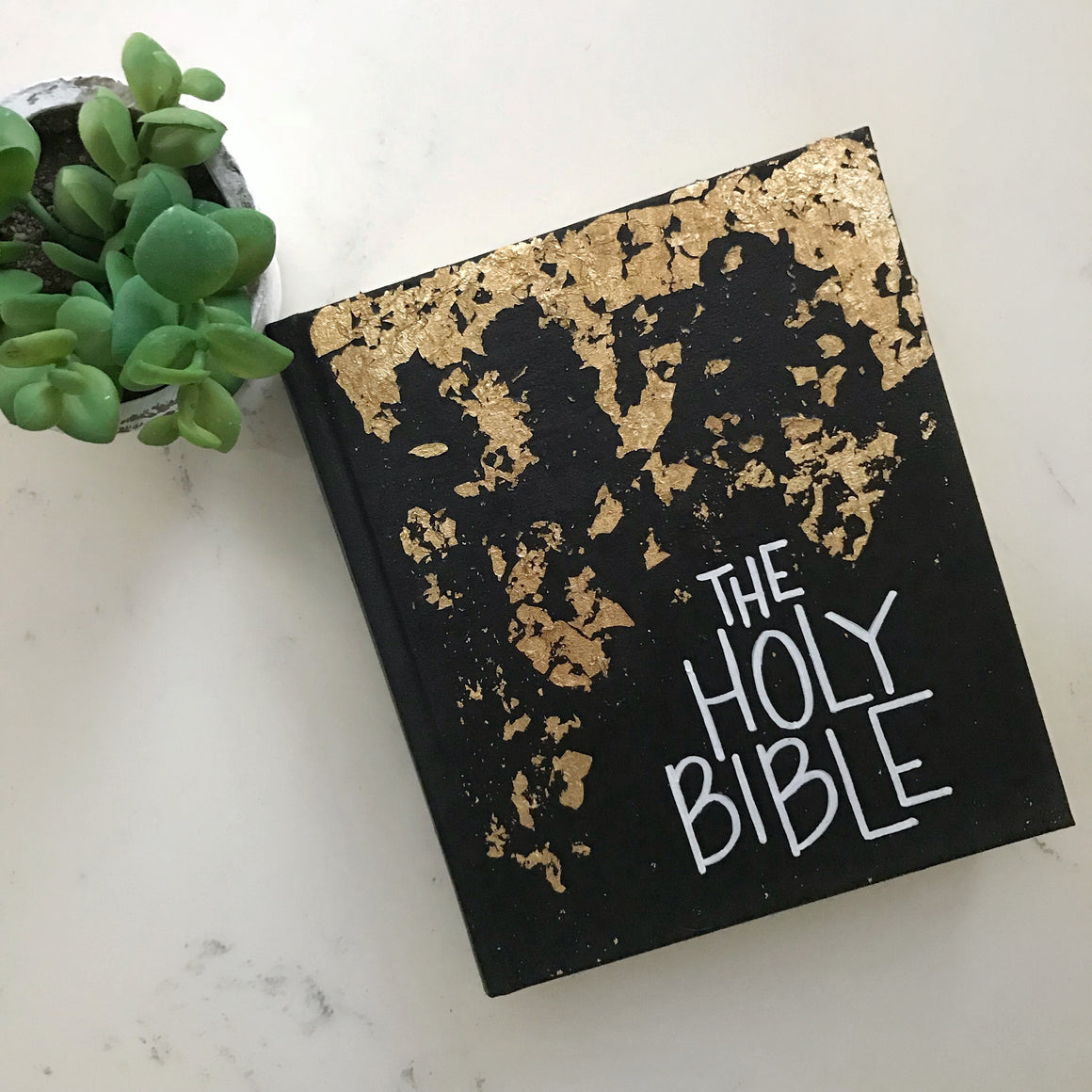 Black and Gold, ESV Journaling Bible