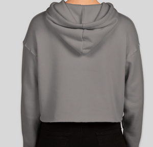 Love Does Women's Drop Shoulder Cropped Hoodie
