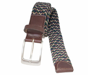 Style 014132 - Men's 35mm Glenayr Mulit-Colour Braided Golf Belt