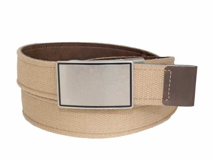 Style 014192- 35mm Reversible Strap with Antique Nickel Grip Buckle
