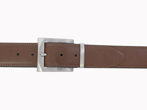 Style 014197- Men's 40mm Reversible Strap with Removable Brush Nickel Harness Buckle