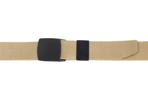 Style 014198- Men's 38mm Nylon Strap with Black Non Metal, High Density Plastic Clamp on Buckle