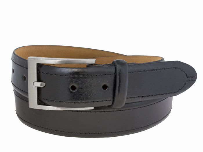 Style 10158 - 35mm Men's Dress Belt with Sewn Edge