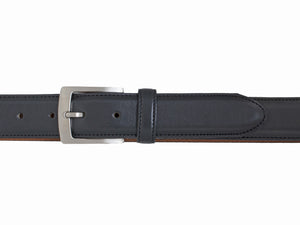 Style 10219 - 35mm Stitched Leather Belt