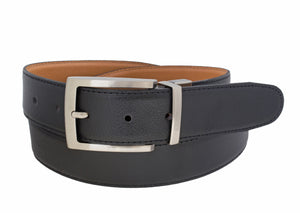 Style 10238 - 35mm Men's Sewn Pebble Reversible Belt