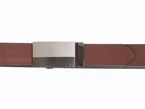 Style 10241- 35mm Ratchet Belt with Two Tone Buckle