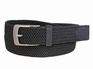 Style 10251OS- 35mm Oversize Stretch Cotton Woven Belt