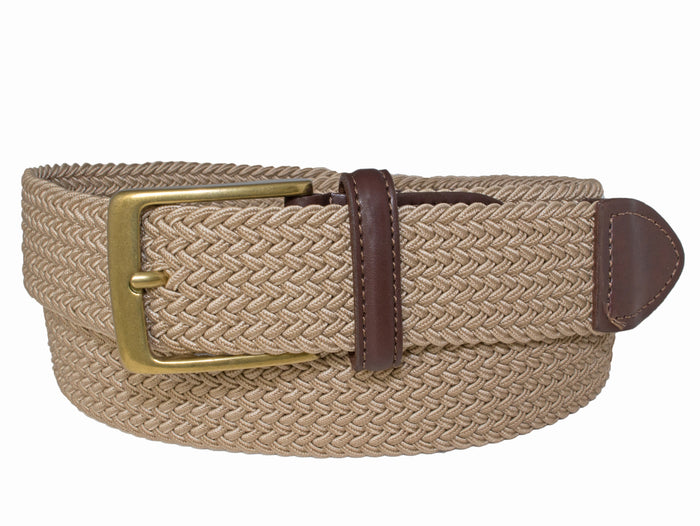 Style 70272-35mm Stretch Cotton Woven Casual Belt