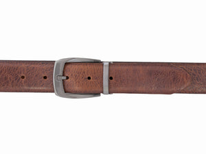 Style 10304- 35mm Distressed Buffalo Leather Dress Belt