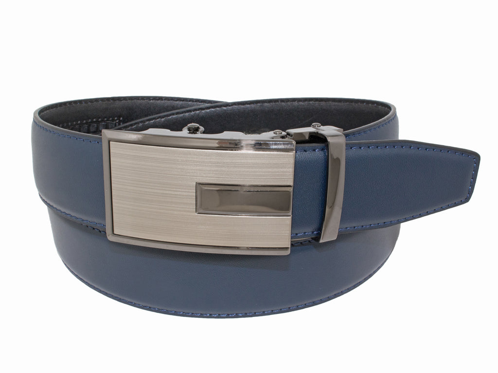 Style 10309- 35mm Polished Inset Rachet Belt