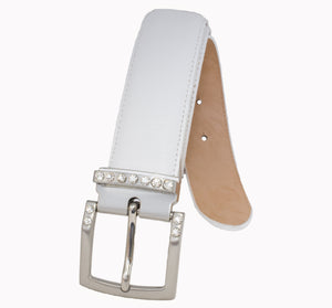 Style - 114128 - Women's Stitched Leather Golf Belt