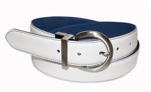 Style 114137 - Women's Reversible Leather Golf Belt