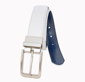 Style 114139- 30mm Women's Stitched Reversible Strap with Twist Harness buckle