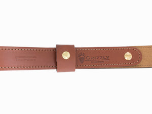Grizzly Leather Cobra Sling with Buck Emboss