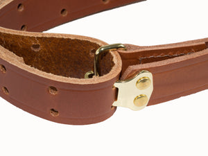 Grizzly Heavyweight 3-Point Leather Military Sling