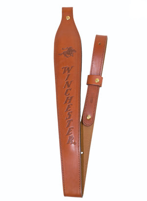 Winchester Padded Leather Cobra Sling