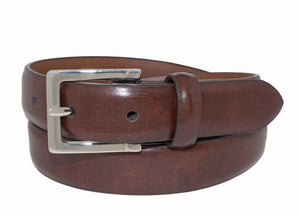Style 516 - 25mm Boys Marble Glazed Leather Stretch Belt
