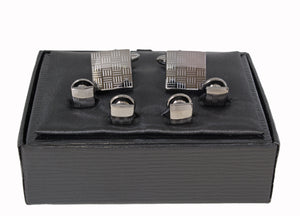Style 575IN-80: Engraved Square Formal Set