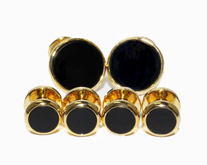 Style-900IN-76: Gold Onyx Formal Set