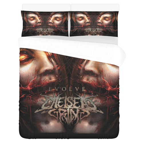 Chelsea Grin – Bedding Set (Duvet Cover & Pillowcases)